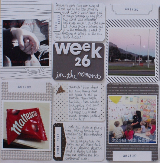 Project Life Week 26 at Documenting Chaos